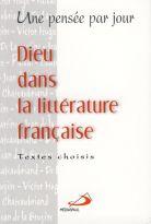 Dieu dans la littérature française