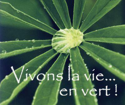 Mp - Vivons la vie... en vert !