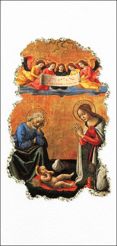 NV 12 Carte double Noel et Voeux