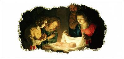 NV 17 Carte double Noel et Voeux