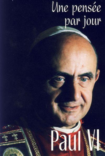 Paul VI : une pensée par jour