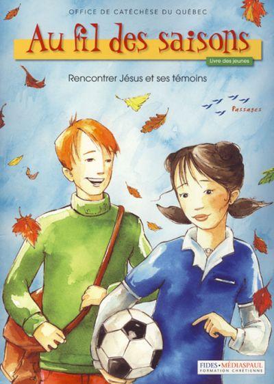 Au fil des saisons - livre des jeunes