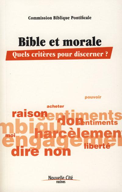 Bible et morale