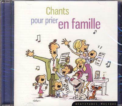 Chants pour prier en famille - CD