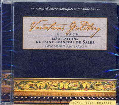 Variations Goldberg J.S. Bach  – CD