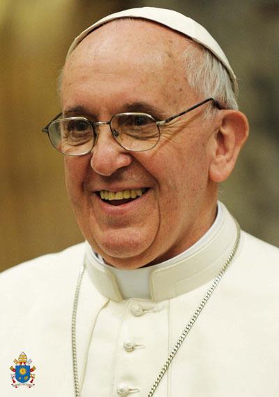 PAP 5 - Carte Pape François