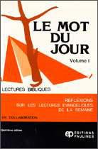Mot du Jour, Le - Vol. I EPUISE
