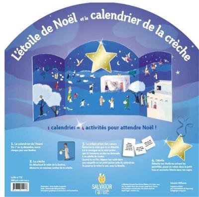 Étoile de Noël et le calendrier de la crèche (L')