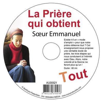 CD- Prière qui obtient tout (La)