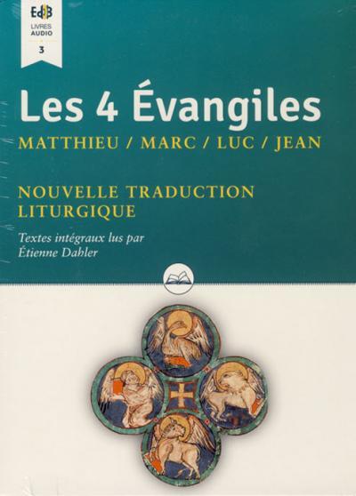 Quatre évangiles (Les) - Audio livre CD MP3