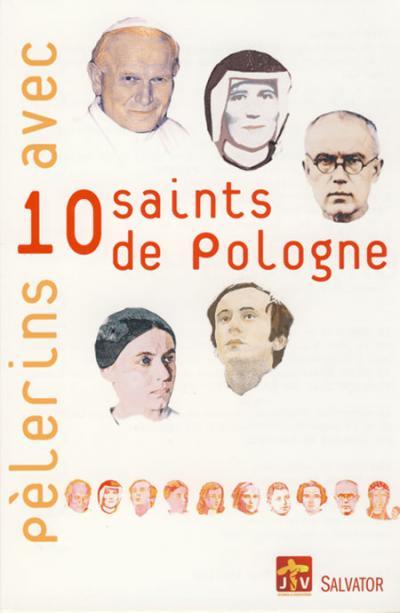 Pèlerins avec dix saints de Pologne