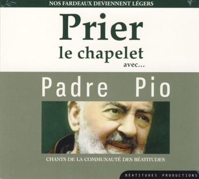 Prier le chapelet avec Padre Pio - CD