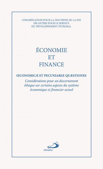 Économie et finance