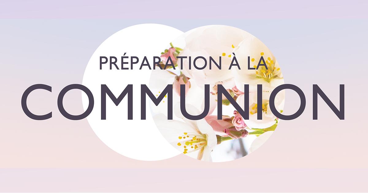 Première communion et confirmation