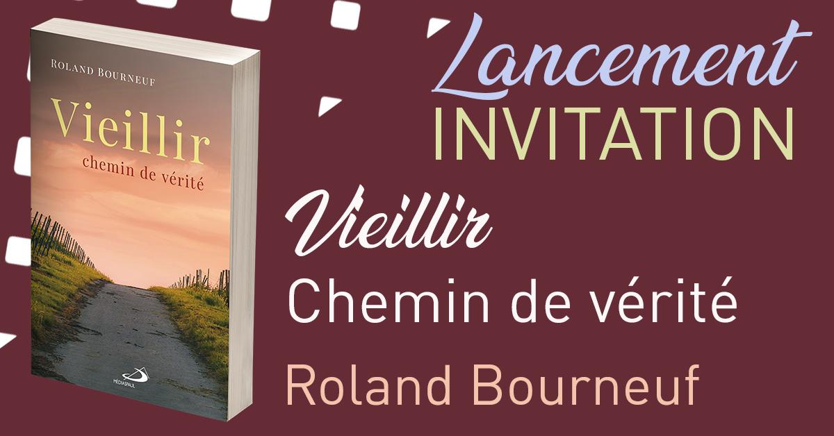 5 mars - Lancement du livre de Roland Bourneuf