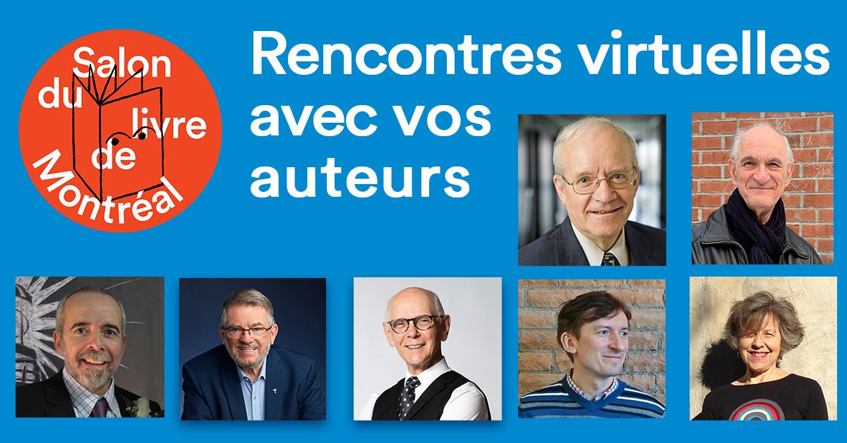 12-15 NOV RENCONTRES VIRTUELLES AVEC  UN AUTEUR