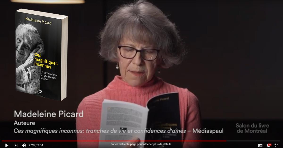 SALON DU LIVRE DE MONTRÉAL - CAPSULE ÉCLAIR