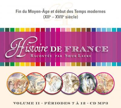 CD- Histoire de France 2  - Format MP3
