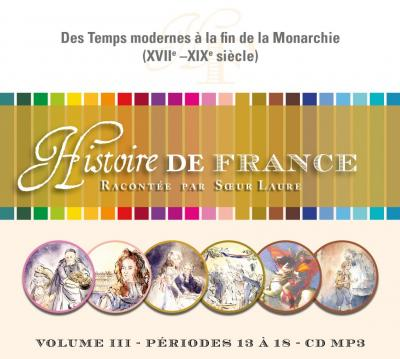 CD- Histoire de France 3 - Format MP3