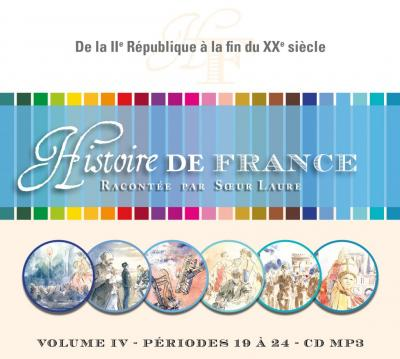 CD- Histoire de France 4 - Format MP3