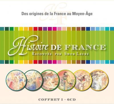 CD- Histoire de France 1 - Coffret de 6 CD