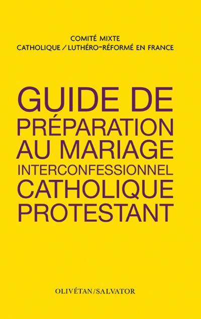 Guide de préparation au mariage