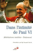Dans l'intimité de Paul VI