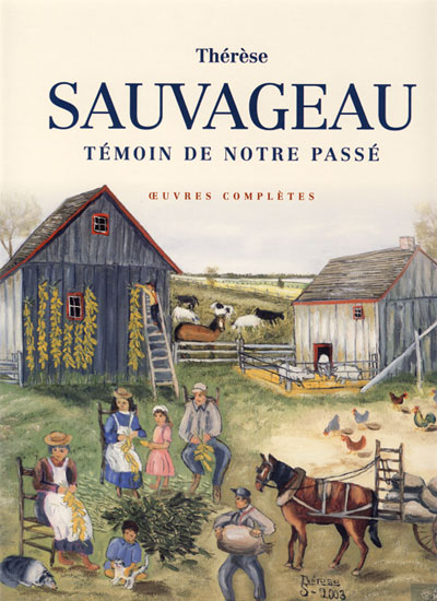 Therese Sauvageau oeuvres complètes