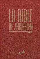 Bible de Jérusalem, La - (souple bleue ou orangée)