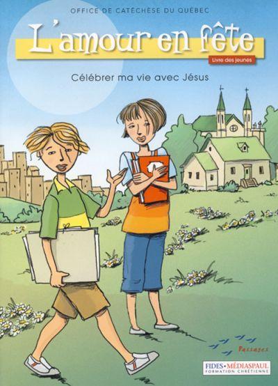 Amour en fête (L') - livre des jeunes