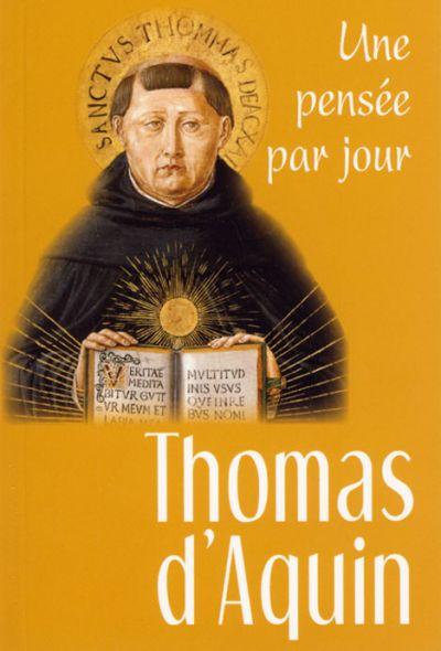 Thomas d'Aquin : une pensée par jour