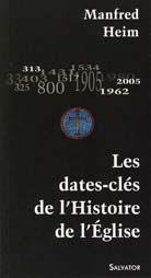 Dates-clés de l'Histoire de l'Église