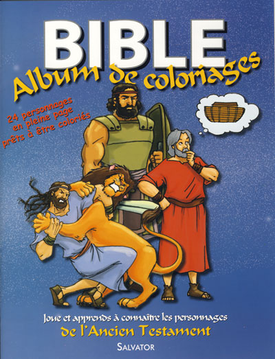 Bible : album de coloriages