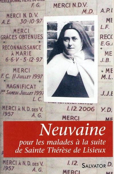 Neuvaine pour les malades à la suite de Sainte Thérèse de Lisieux