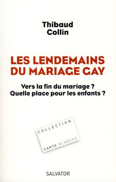 Lendemains du mariage gay (Les)