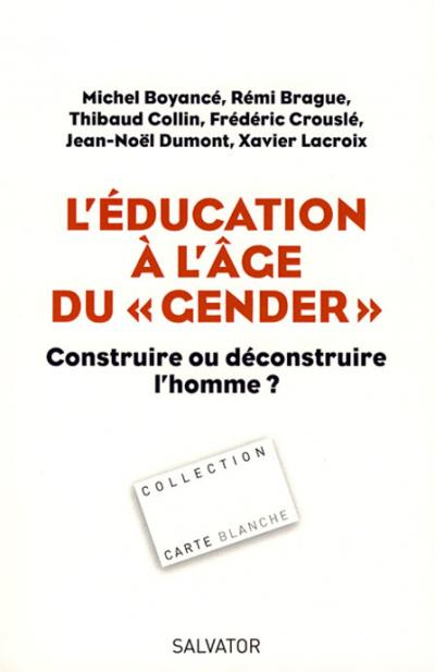 Education à l'âge du 'gender' (L')