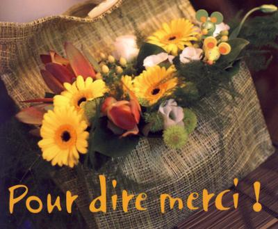 MP - Pour dire merci !