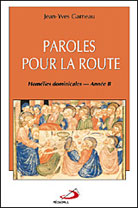 Paroles pour la route - Annee B