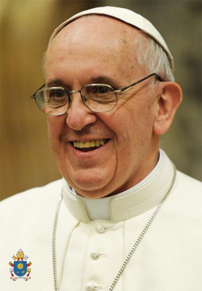 Affiche Pape Francois