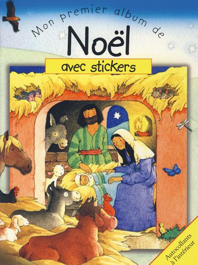 Mon premier album de Noël avec stickers