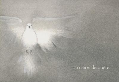 DEU 01 - Carte double deuil
