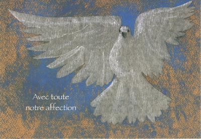 DEU 02 - Carte double deuil