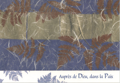 DEU 04 - Carte double deuil