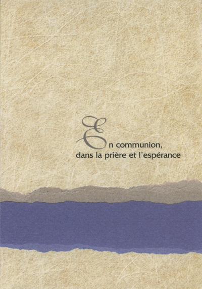 DEU 05 - Carte double deuil