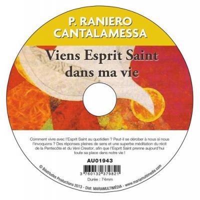 Viens Esprit Saint dans ma vie - CD