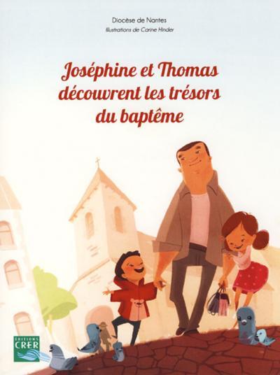 Joséphine et Thomas découvrent les trésors du baptême