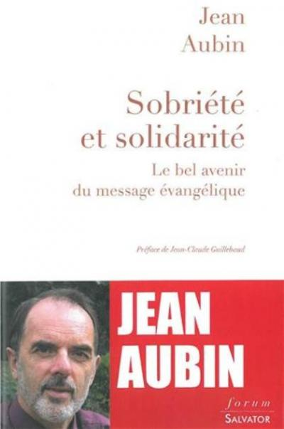Sobriété et solidarité