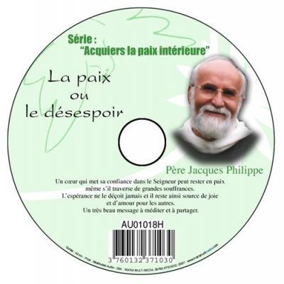 CD- Acquiers la paix 8 La paix ou le désespoir