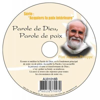 CD-  Acquiers la paix 2 Parole de Dieu Parole de paix