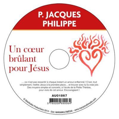CD- Un coeur brûlant pour Jésus